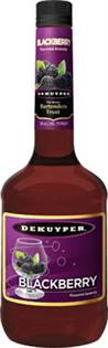 Dekuyper Brandy Blackberry 1.00l